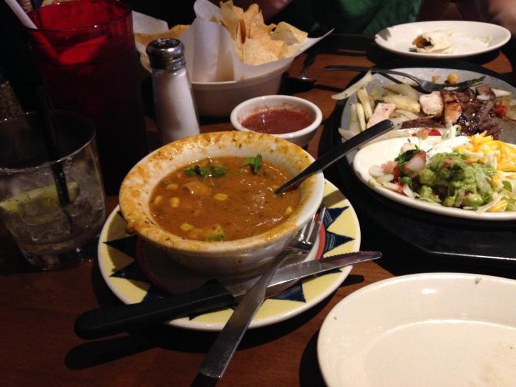 Mexican Dinner Date Summer 2015