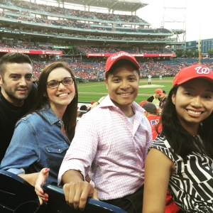 Nationals Game Summer 2015