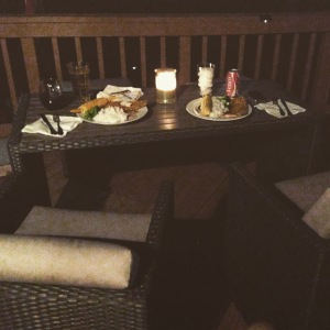 Dining Alfreso Summer 2015