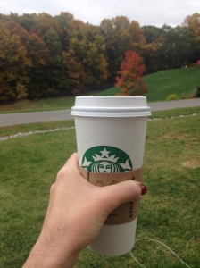 Perfect Scene for Morning Starbucks Sipping Fall 2015