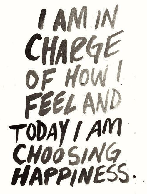 Choosing Happiness lizmarieblog.com
