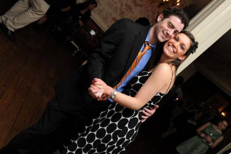 Bridget & Jeff's Wedding Dance Floor
