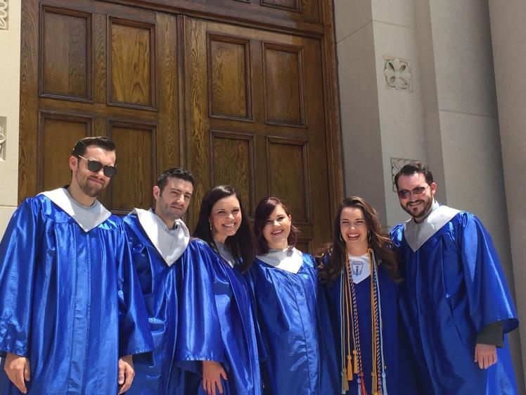 Heppes DJO Graduates Grant '07, Danny '02, Jackie '03, Katy'10, Bridget '16, Sawyer '07