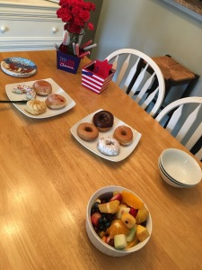 Donut Breakfast July 2016