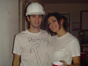 Danny and Jackie Halloween 2005