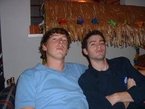 Danny & Matt October 2005