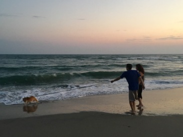 The Bessettes at the Beach September 2016