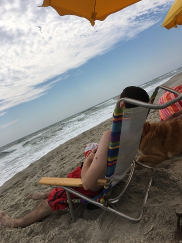 Beach Napping September 2016