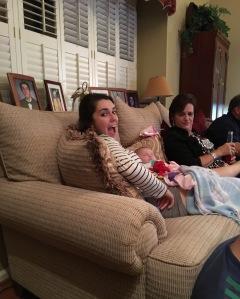Bridget Home for Fall Break September 2016