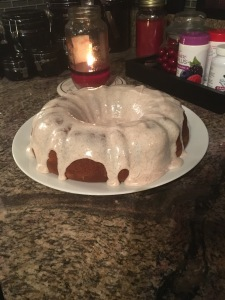 Mix and Match Mama's Pumpkin Bundt Cake October 2016