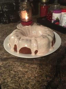 Mix and Match Mama's Pumpkin Bundt Cake October 2016