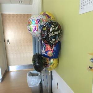 Hospital Birthday Party October 2016