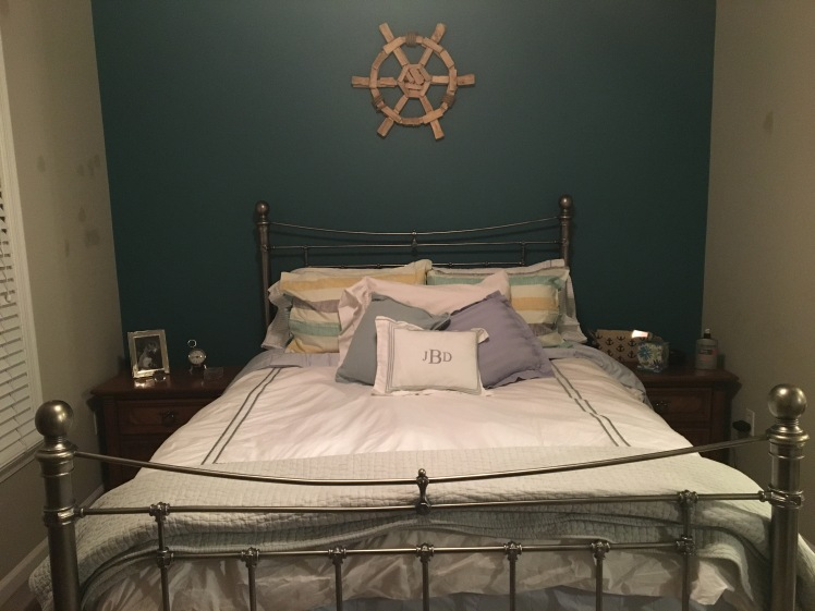 New bedding in our room December 2016
