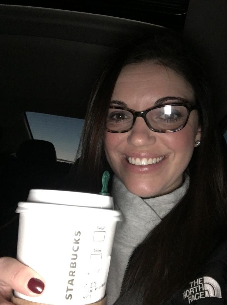 Saturday Errands starting at 6PM demand a latte! January 2017