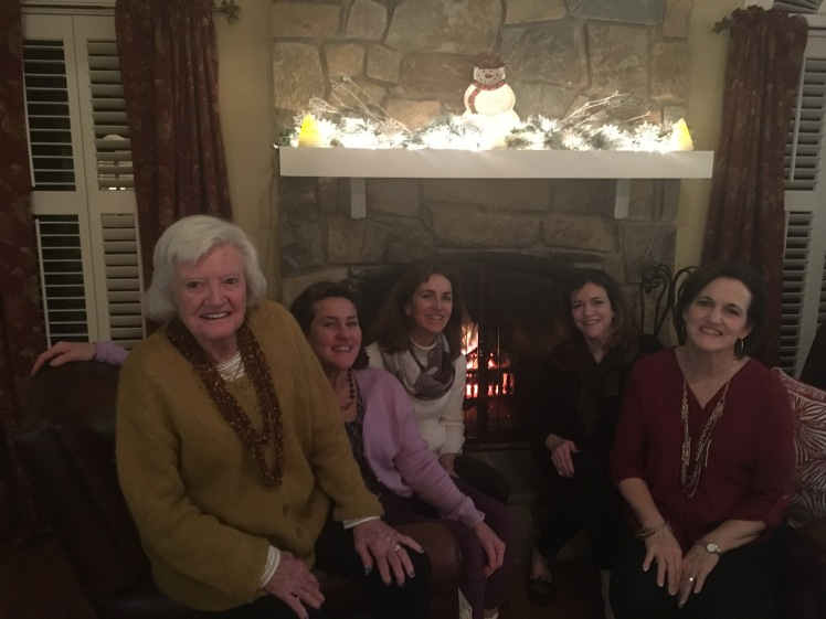 My mom, her sisters and Ganmommy January 2017
