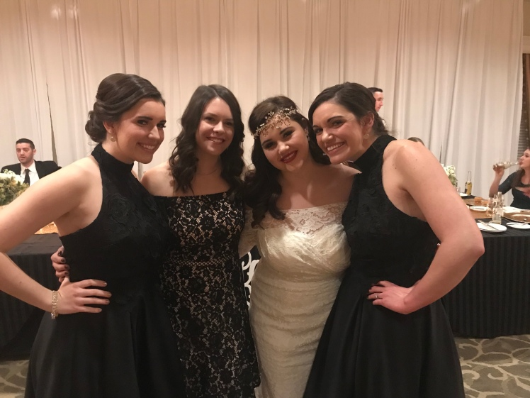 My Sister's Wedding January 2018